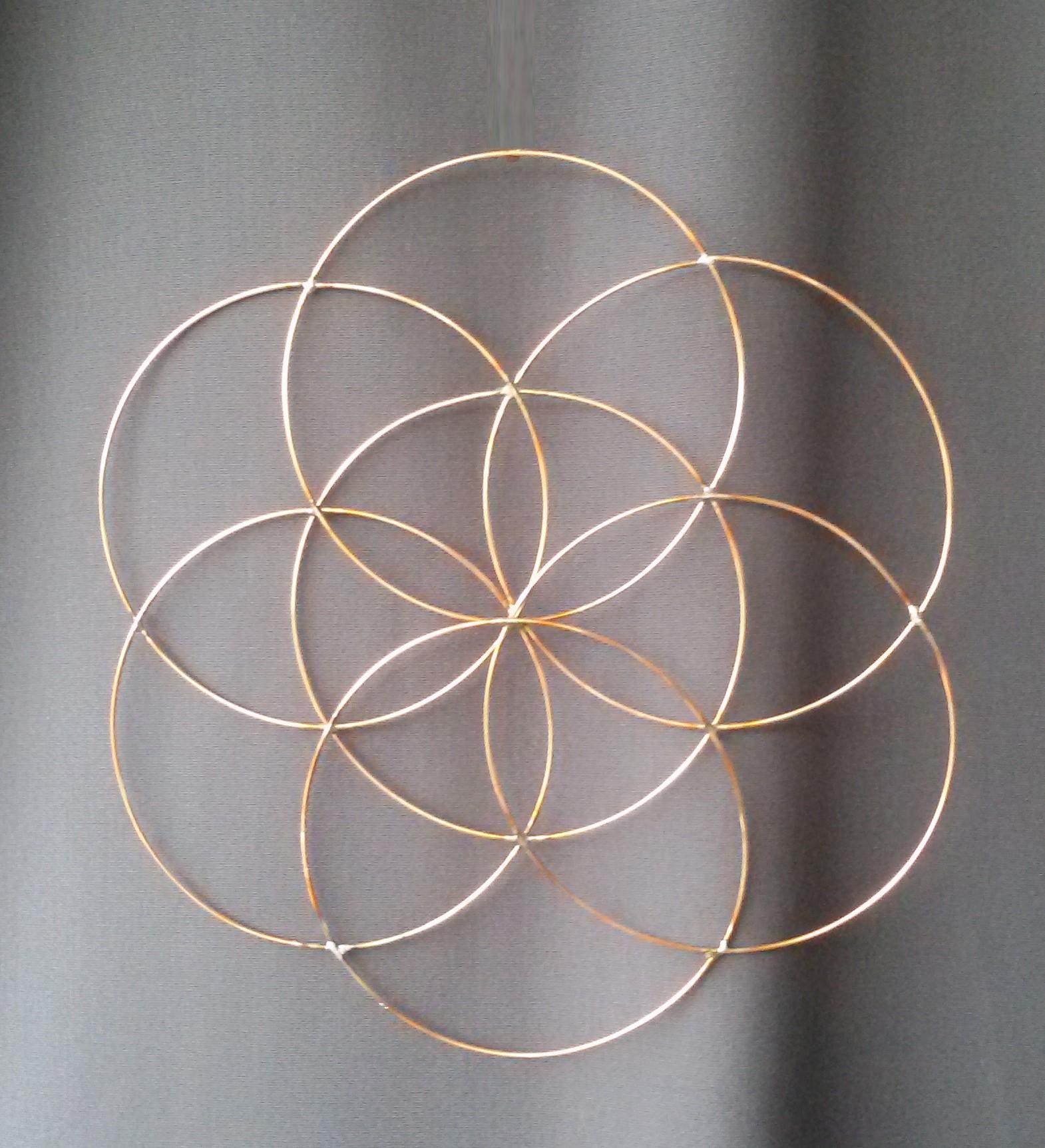 création artisanale décoration, création vibratoire, graine de vie décoration
