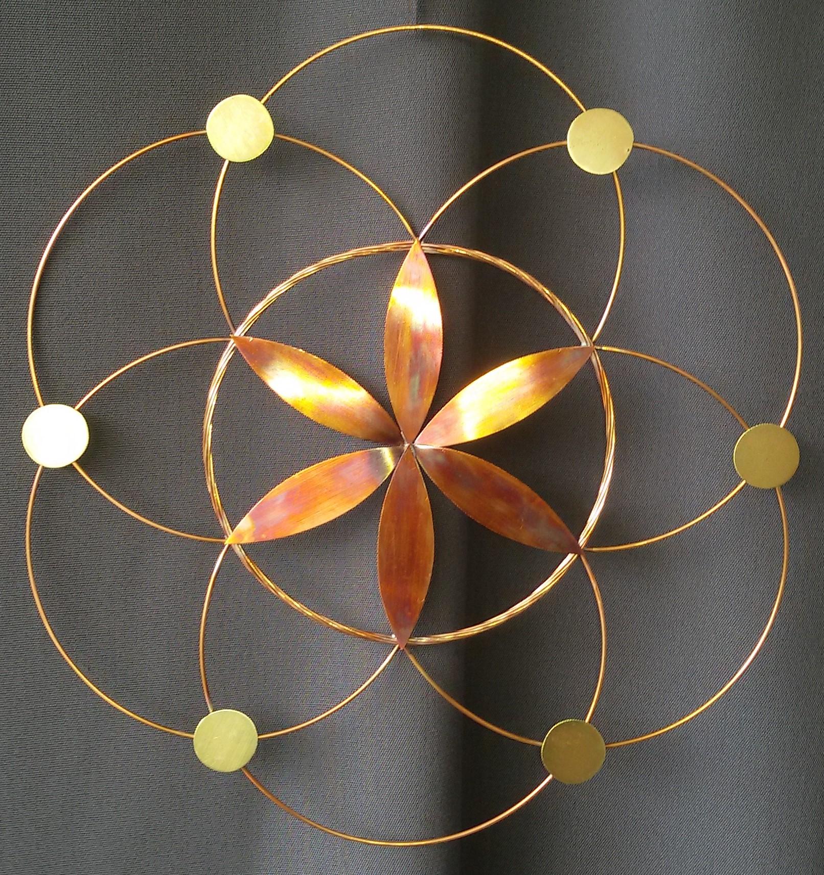 création artisanale décoration, création vibratoire, graine de vie